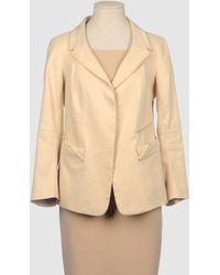 Donna Karan New York Blazer yellow - Lyst