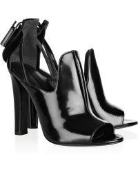 Alexander Wang Agnete Patentleather Sandals - Lyst