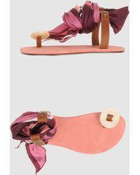 Avec Moderation | Thong Sandal | Lyst