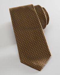 Burberry Prorsum - Geometric Jacquard Skinny Tie  - Lyst