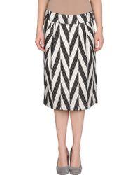 Dries Van Noten 34 Length Skirt black - Lyst