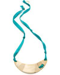 Gorjana -  Savara Crescent Necklace - Lyst