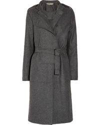 Reed Krakoff - Wool Blend Trench Coat - Lyst