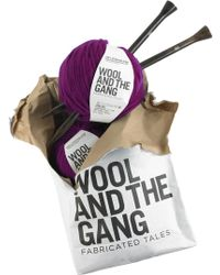 Wool And The Gang | Jolly Pocket Diy Wool Scarf Kit | Lyst