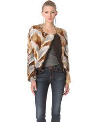 Kelly Wearstler - Winston Genuine Fox Fur Jacket - Lyst