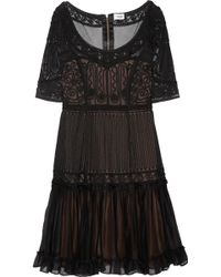 Temperley London Lace Dress black - Lyst