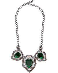 BaubleBar - Emerald Taylor Bib - Lyst