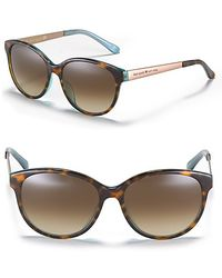 Kate Spade Amalia Rounded Cat Eye Sunglasses - Lyst