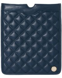 French Connection - Oxford Quilted Ipad Case - Lyst