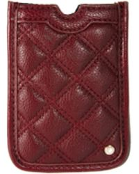 French Connection - Oxford Quilted Phone Case - Lyst
