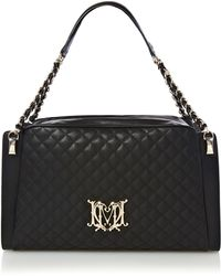 Love Moschino | Modern Quilted Medium Bowling Bag | Lyst