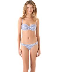 Anna & Boy - Underwire Bandeau Bikini - Lyst