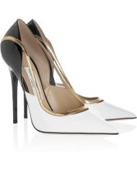 Jimmy Choo Viper Patentleather Pumps - Lyst