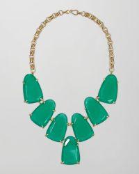Kendra Scott - Harlow Necklace Green Onyx - Lyst