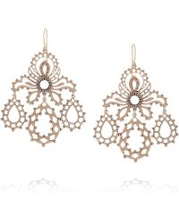 Laurent Gandini | Girandole 9karat Rose Gold Earrings | Lyst