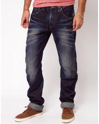 Pepe Jeans - Pepe Heritage Jeans Regular Fit Dark Wash - Lyst