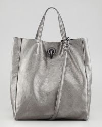 Rachel Zoe Eve Day Tote Bag Pewter silver - Lyst