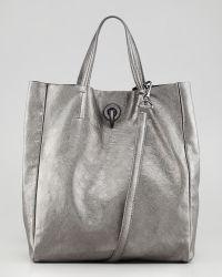 Rachel Zoe Eve Day Tote Bag Pewter - Lyst