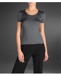 Armani Shortsleeve Tshirt - Lyst
