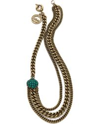 Giles & Brother - Encrusted Circe Necklace - Lyst