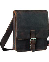 Jost Jost Vintage Leather Reporter Bag Brown