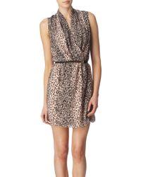 Oasis Animalprint Dress - Lyst