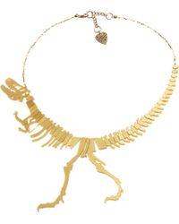 Tatty Devine Dinosaur Necklace - Lyst