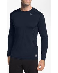 Nike Core 20 Fitted Long Sleeve Tshirt Online Exclusive - Lyst