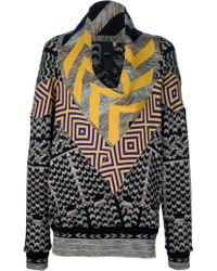 Bernhard Willhelm - Chevron Print Sweater - Lyst