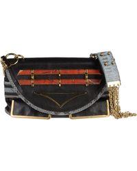 Chloé Angie Medium Handbag in Black - Lyst
