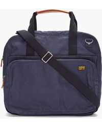 G-Star RAW - Navy Miller Messenger Bag - Lyst