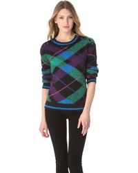 Juicy Couture Chateau Mohair Sweater - Lyst