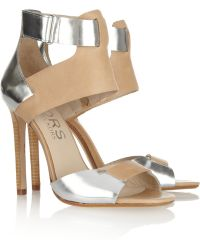 Kors by Michael Kors - Atherton Leather Sandals - Lyst