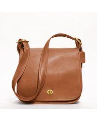 Coach Classic Stewardess Bag In Leather - Lyst