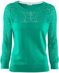 H&M Jumper green - Lyst