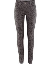 H&M Trousers gray - Lyst