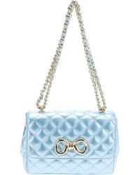 Moschino Cheap & Chic Quilted Leather Shoulder Bag - Lyst