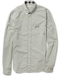 Burberry Brit Gingham Check Slimfit Cotton Shirt - Lyst