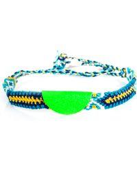 Lucy Folk - Neon Taco Braided Bracelet - Lyst