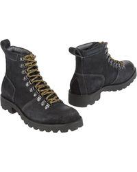 Calvin Klein Jeans - Combat Boots - Lyst