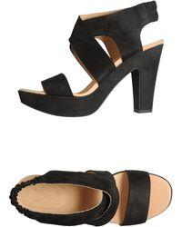 MM6 by Maison Martin Margiela Platform Sandals - Lyst