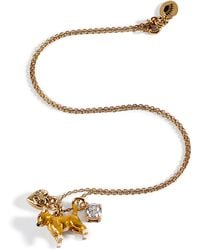 Juicy Couture - Goldtoned Chihuahua Mini Critter Necklace - Lyst