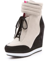 Boutique 9 - Whispers Wedge Sneakers - Lyst