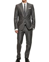 Dolce & Gabbana Martini Wool and Silk Suit - Lyst