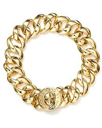 Marc By Marc Jacobs Small Katie Turnlock Bracelet gold - Lyst