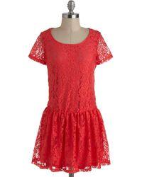 ModCloth Lets Guava Party Dress - Lyst