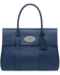 Mulberry Bayswater Grainy Print Leather Bag - Lyst