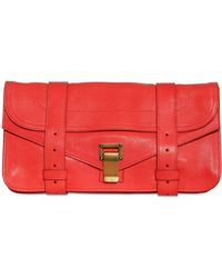 Proenza Schouler Ps1 Clutch Lux Leather Clutch - Lyst