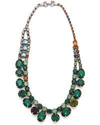 Tom Binns - Faux Real Crystal Necklace - Lyst