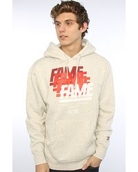 Hall of Fame - The Fade Pullover Hoody in Oatmeal - Lyst